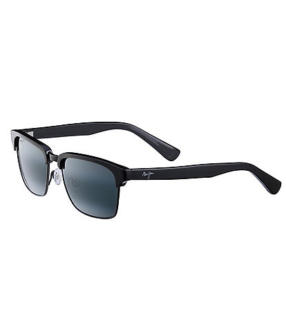 Maui Jim Kawika Polarized Glare and UVA/UVB Protection Wayfarer Sunglasses