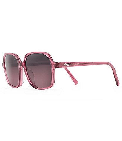 Maui Jim Little Bell PolarizedPlus2® Square 55mm Sunglasses