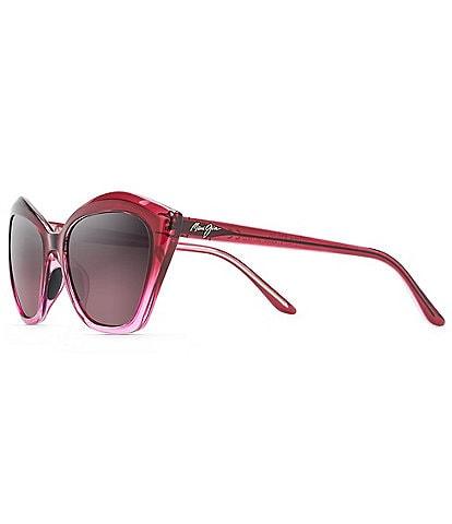 Maui Jim Lotus PolarizedPlus2® Cat Eye 56mm Sunglasses
