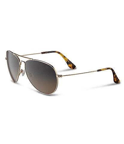 Maui Jim Mavericks PolarizedPlus2® Aviator 61mm Sunglasses