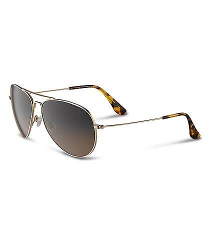Maui Jim Mavericks Polarized Aviator Sunglasses