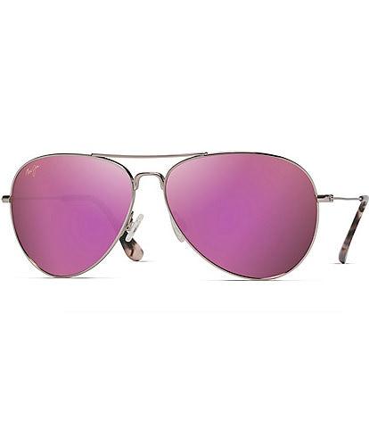 Maui Jim Mavericks PolarizedPlus2® Aviator 61mm Sunglasses