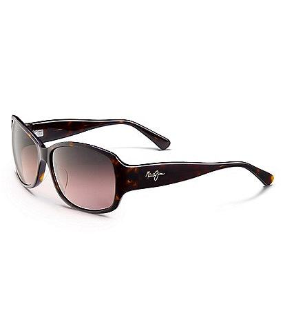 Maui Jim Nalani PolarizedPlus2® Rectangular 61mm Sunglasses