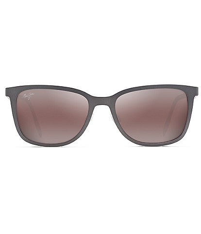 Maui Jim Naupaka PolarizedPlus2® Square 53mm Sunglasses