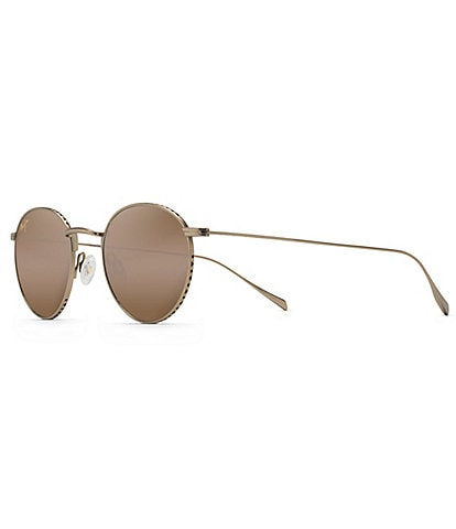 Maui Jim North Star Polarized Round Classic Sunglasses