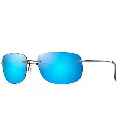 Maui Jim Ohai PolarizedPlus2® Rectangle 59mm Sunglasses