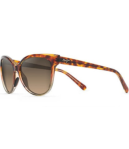 Maui Jim 'Olu 'Olu Polarized Cat Eye Sunglasses