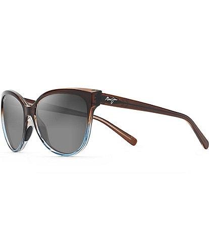 Maui Jim 'Olu 'Olu Polarized Cat Eye Sunglasses