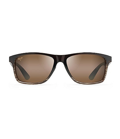 Maui Jim Onshore Polarized Rectangular Sunglasses