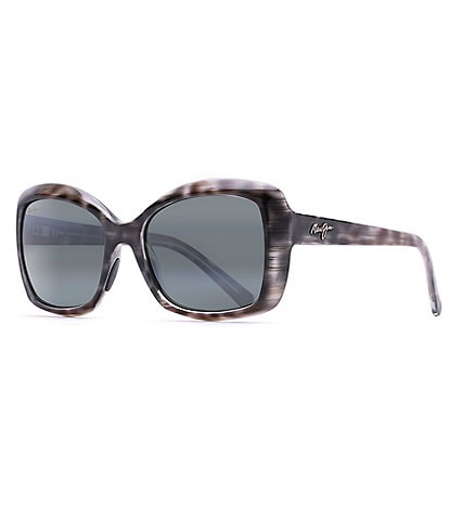 57cd4fc812887 Maui Jim Orchid Polarized Oversized Square Sunglasses