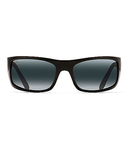Maui Jim Peahi Polarized Wrap Sunglasses