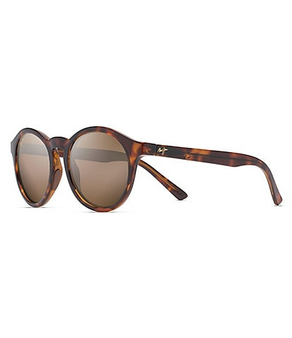 Maui Jim Pineapple PolarizedPlus2® Round 50mm Sunglasses