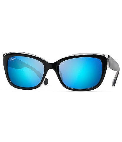 Maui Jim Plumeria Gradient Square Cat-Eye Sunglasses