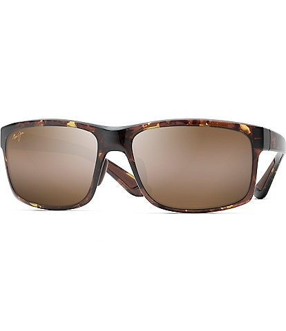 Maui Jim Pokowai Arch PolarizedPlus2® Rectanglar 58mm Sunglasses
