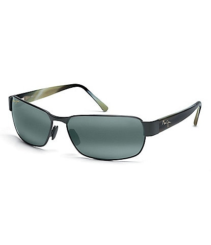 Maui Jim Polarized Black Coral Aviator Sunglasses