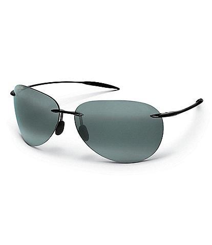 Maui Jim Sugar Beach PolarizedPlus2® Rimless 62mm Sunglasses