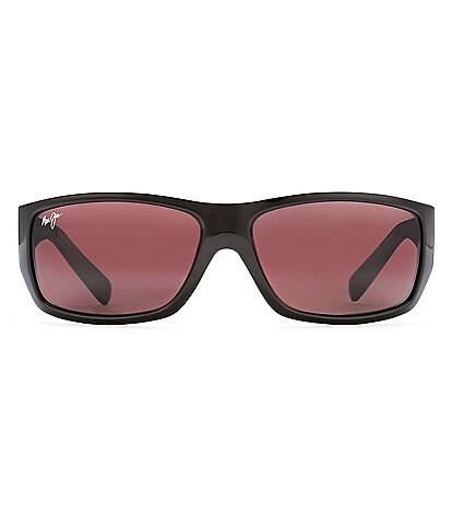 Maui Jim Polarized Wassup Rectangle Sunglasses