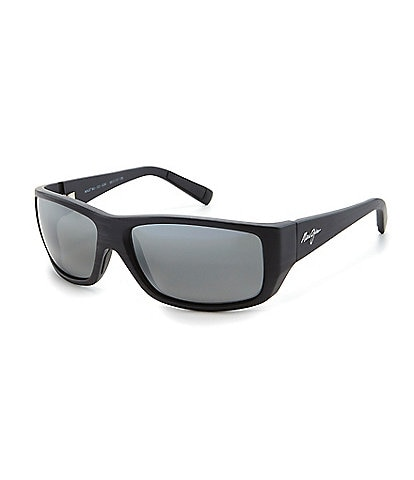 Maui Jim Polarized Wassup Rectangle Sunglasses