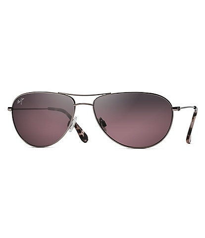 Maui Jim Sea House Gradient Polarized Aviator Sunglasses