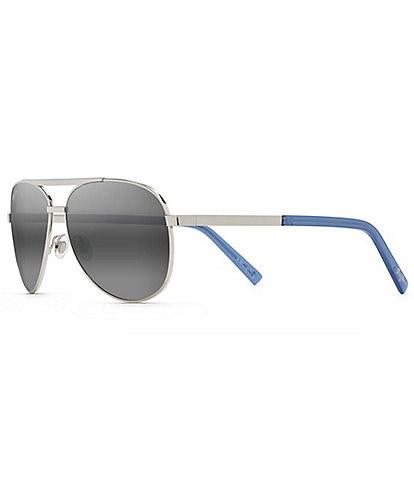 Maui Jim Seacliff PolarizedPlus2® Aviator 54mm Sunglasses
