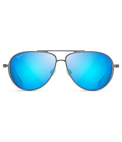 Maui Jim Shallows PolarizedPlus2® Aviator 59mm Sunglasses