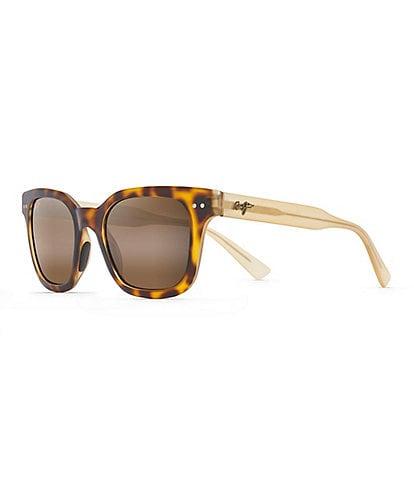 Maui Jim Shore Break PolarizedPlus2® Square 50mm Sunglasses