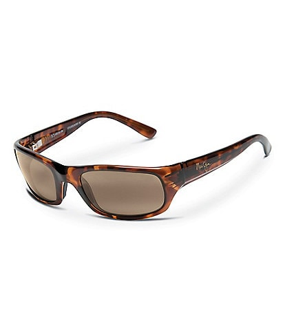 Maui Jim Stingray PolarizedPlus2® Wrap 55mm Sunglasses