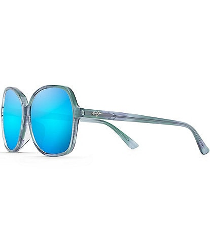 Maui Jim Taro PolarizedPlus2® Butterfly 59mm Sunglasses