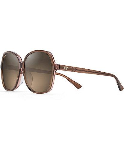 Maui Jim Taro PolarizedPlus2® Butterfly 59mm Sunglasses