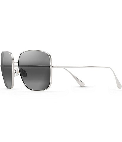 Maui Jim Triton PolarizedPlus2® Fashion Square 61mm Sunglasses