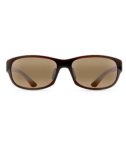 Maui Jim Twin Falls Polarized Wrap Sunglasses