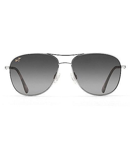 Maui Jim Cliff House PolarizedPlus2® Aviator 59mm Sunglasses