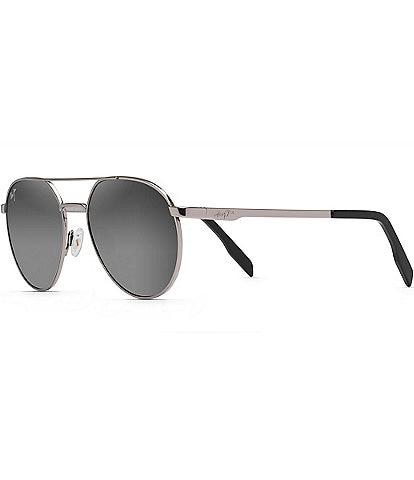 Maui Jim Waterfront PolarizedPlus2® Round 55mm Sunglasses