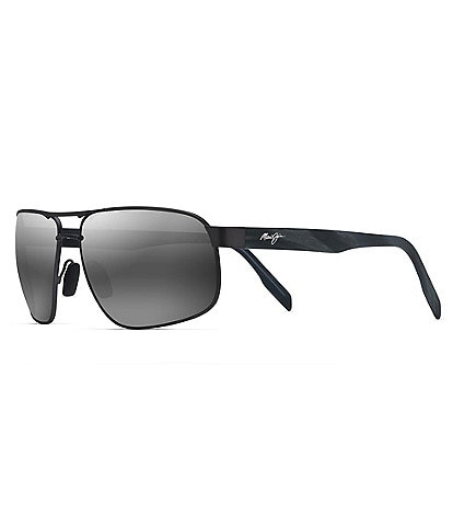 Maui Jim Whitehaven Polarized Rectangle Sunglasses