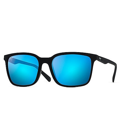 Maui Jim Wild Coast PolarizedPlus2® Square 56 mm Sunglasses