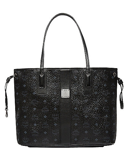 MCM Visetos Collection Liz Medium Shopper Tote Bag