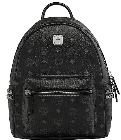 MCM Visetos Collection Stark Small Backpack