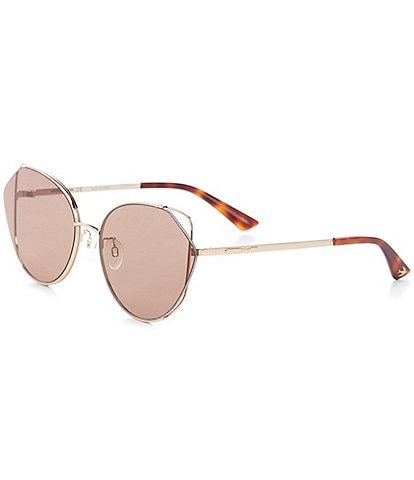 McQ Alexander McQueen Women's Cat Eye 63mm Sunglasses