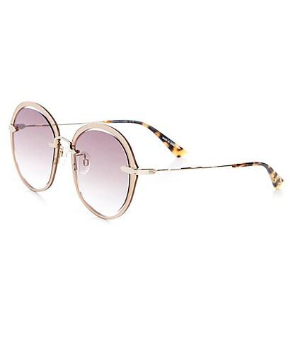 McQ Alexander McQueen Women's Round 54mm Sunglasses