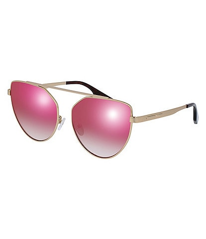 McQ by Alexander McQueen Women's Aviator Sunglasses