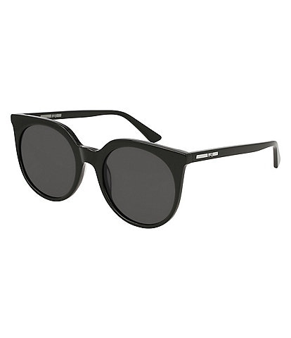 McQ by Alexander McQueen Women's Rounded Cat Eye Sunglasses