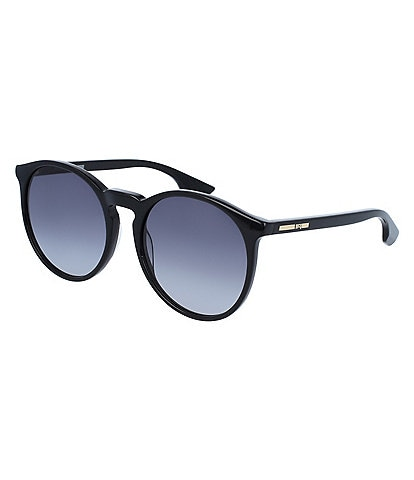 McQ by Alexander McQueen Women's Rounded Sunglasses