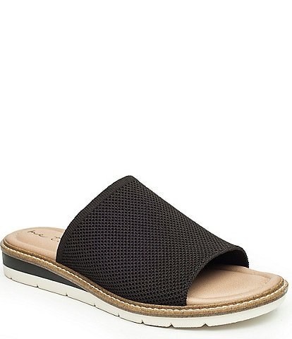 Me Too Ashlee Mesh Wedge Slides