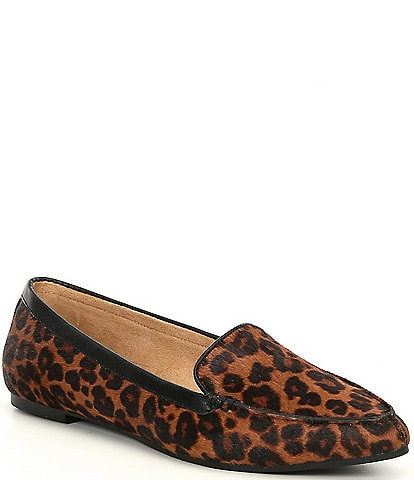 Me Too AUDRA9 Leopard Print Almond Toe Slip On