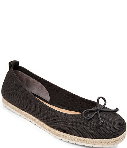 Me Too Kenzie Sustainable Mesh Espadrille Bow Flats