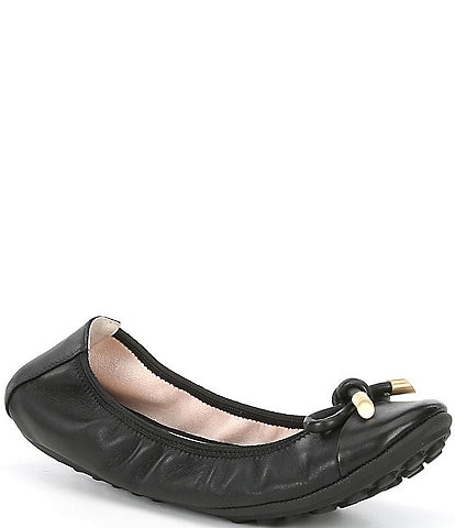Me Too Lennox Leather Ballet Flats