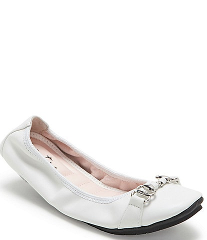 Me Too Olympia Leather Flex Ballet Flats