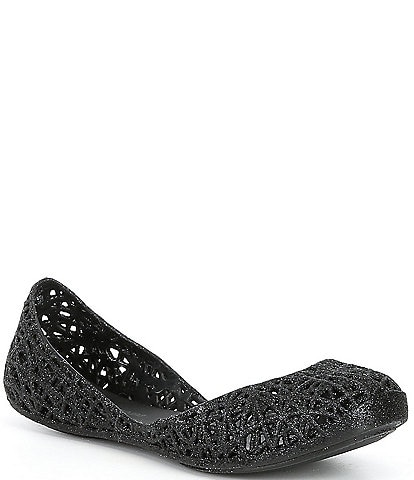 Mel by Melissa Girls' Campana Zig Zag Slip On Shoes (Youth)