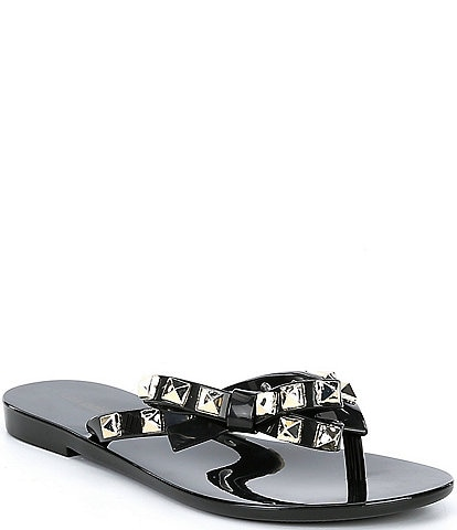Mel by Melissa Girls' Harmonic Studs Flip Flops (Youth)