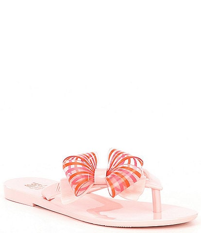 Mel by Melissa Girls' Harmonic Sweet II Flip Flops (Toddler)